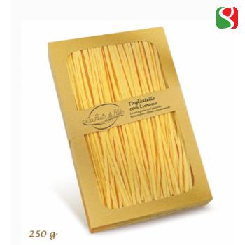 """Tagliatelle"" LEMON FLAVOURED HIGH Quality artigianal egg pasta - 250g"