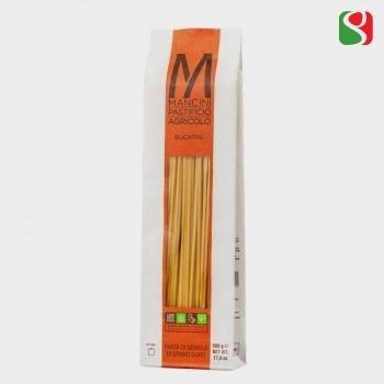 """Паста """"Bucatini"""" MANCINI, 500 г                                   Высококачественная итальянская паста из твердых сортов пшеницы"""