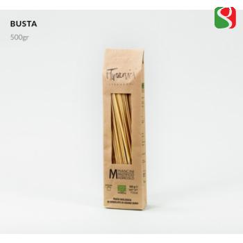 """БИО Паста """"Spaghetti"""" из непросеянной муки """"TURANIK"""", 500 г                                                                               Высококачественная итальянская паста"""