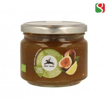 BIO Figs and Lemons Jam - 100% PECTIN & SUGAR FREE - 270g