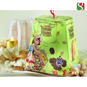 """Traditsionaalne ja kvaliteetne  Jõulukeeks """"Pandoro di Verona"""", 1 кg"""
