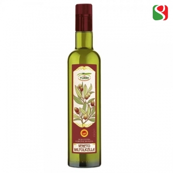"Elegant, Sofisticated, Mild Extra Virgin olive oil, 100% ITALIAN, cold mechanical pressing, VERY low acidity,  ""DOP Valpolicella"": numbered bottles, limited production - 500ml"