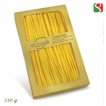 """Chitarrine"" HIGH Quality artigianal egg pasta from ""La Pasta di Aldo"" the best egg pasta producer in Italy - 250g"
