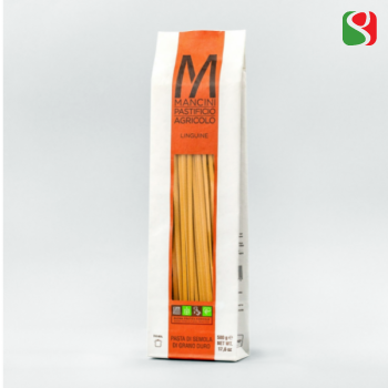 """Pasta MANCINI """"Linguine"""", 500 g, Durumjahust, Itaalia pasta, Kõrge kvaliteet"""