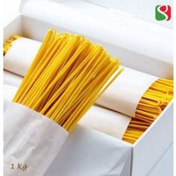 """Chitarrine"" HIGH Quality artigianal egg pasta from ""La Pasta di Aldo"" the best egg pasta producer in Italy - 1000g"