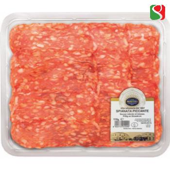 "Spicy salame ""SPIANATA PICCANTE"" sliced- 110g"