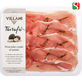 CRUDO ham Sliced WITH TRUFFLE, 100 g