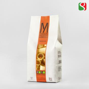 """Паста MANCINI """"Paccheri"""", 500 г Высококачественная итальянская паста из твердых сортов пшеницы"""