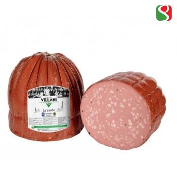 """""""La Santo PGI Bologna Mortadella"""" with pistachio, 1/2 in vacuum, around 2,5kg"""