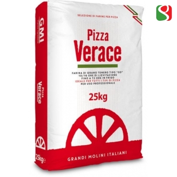"""Pizza Verace"" 00 W300 Pizza flour, for real pizza Napoletana, 25 kg - Leavening time up to 72 hours"