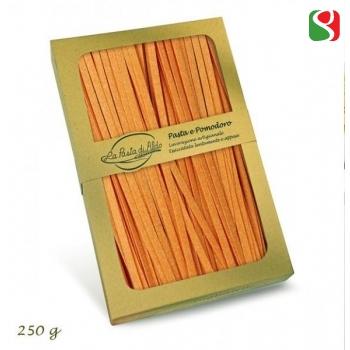 "Яичная паста ручной работы ""Tagliatelli"" с томатom, 250 г"