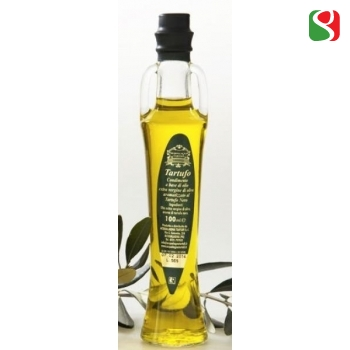 Extra Virgin Olive Oil flavored with Black Winter Truffle - 100 ml