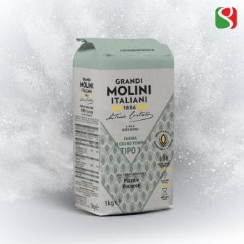 """""""Le Origini"""" type 1 Flour, 25 kg (w220)"""