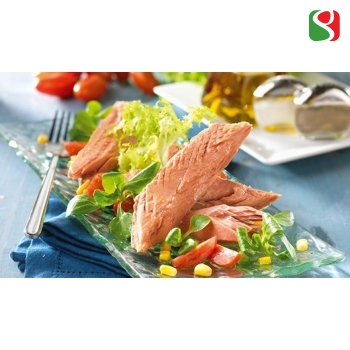 Tuna big fillets in olive oil - 1850 g