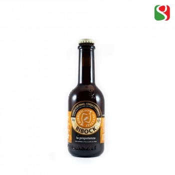 """Birrificio Italiano BiBock"" 6.2% 33cl - German style Heller Bock"