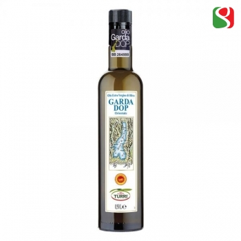 "Elegant, Sofisticated, Mild Extra Virgin olive oil, 100% ITALIAN, cold mechanical pressing, VERY low acidity, ""DOP Garda Orientale"": numbered bottles, limited production - 500ml"