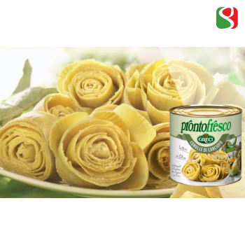 Artichoke hearts in oil - 2,55kg