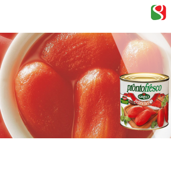 "PELATICHEF - ""Superior quality"" whole peeled tomatoes"