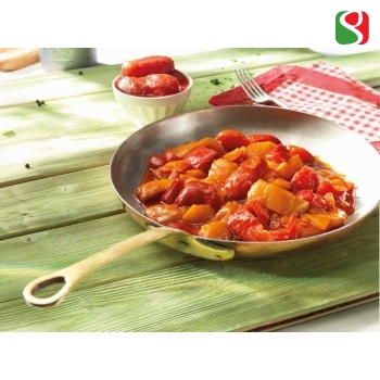 PEPERONATA - Cooked peppers in tomato juice