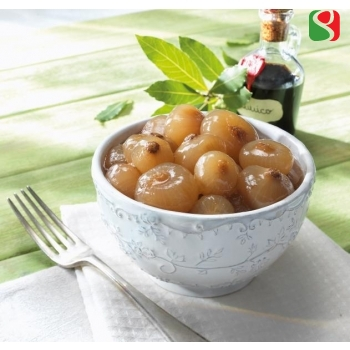 Sweet and sour onions with balsamic vinegar of Modena PGI - 840g