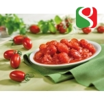 "Peeled MINI Tomatoes ""Mini Roma"" - 800g - HIGH QUALITY, SWEET Peeled ""Datterini"" Tomatoes -  100% Italian tomatoes"