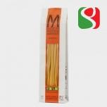 """Pasta """"Bucatini"""" MANCINI, 500 g                                                           Kõrge kvaliteediga itaalia pasta valmistatud täistera nisujahust"""