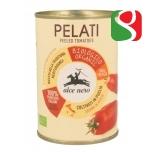 Очищенные помидоры БИО в собственном соку, 400 г
