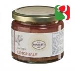 """Ragù"" of Wild Boar meat (60%) pasta sauce 180 g"