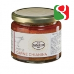 """Itaalia """"Chianina"""" lehma liha Raghu tomatikastmega - 180g"""