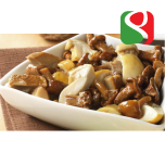 "Mushrooms MIX ""GRAN MALGA - Trifolati"" (Nameko 36%, Porcini: 27%, Roundheads: 27%, Chanterelle: 10%) - 700g (82% of mushrooms!!!) Alubag"