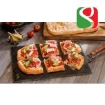 """PIZZA base for """"PIZZA al Taglio"""", 20cm x 30cm, 240 g - The real ITALIAN """"PIZZA al Taglio"""", 8 pcs/crt"""