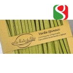 "Munapasta spinatiga ""Tagliatelle VERDI"" LA PASTA DI ALDO, kvaliteetne itaalia käsitöö pasta maitsetetud spinatiga, 250 g"