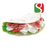 """PIADINA ROMAGNOLA"" flat bread with extra virgin olive oil - 3 pcs = 330 g"