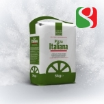 """Pizza Italiana"" 00 Pizza Flour for Real Italian Pizzas 5 kg - pizzas' yesting time: 2-10 hours at room temperature"