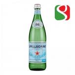 """Вода минеральная газированная """"San Pellegrino"""", 750мл, стеклянная бутылка"""