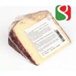 """Овечий молочный сыр """"Пекорино Имбриаго"""" с красным вином"""