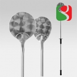 Round pizza shovel Ø 22 cm, Length from 171 cm - High Quality for Professionals