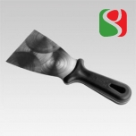 Stainless steel triangular spatula, 10 cm - High Quality for Professionals
