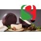 """""""Pecorino Imbriago"""" sheep milk cheese with red wine; in vacuum; 3 months seasoning; fix weight 200g"""