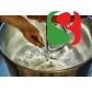 спиральный тестомес для теста для пиццы, 18 кг муки = 115 пицц (с 60% гидратации) - 2 СКОРОСТИ + обратное вращение, колеса, двойные электромеханические таймеры, миска с подсветкой - размеры: 480 мм (ширина) x 800 мм (длина) х 960мм (высота); 400/50/3 В /